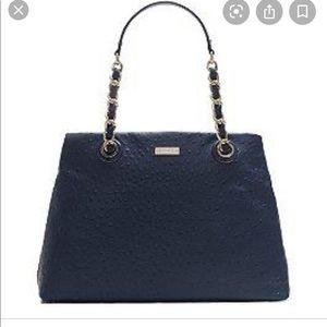Kate spade Maryanne ostrich Victoria falls purse